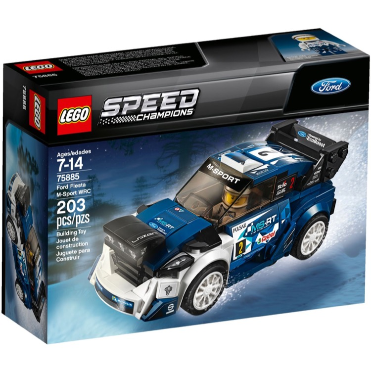 LEGO Speed Champions Sets: 75885 Ford Fiesta M-Sport WRC NEW