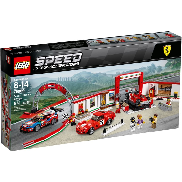 LEGO Speed Champions Sets: 75889 Ferrari Ultimate Garage NEW
