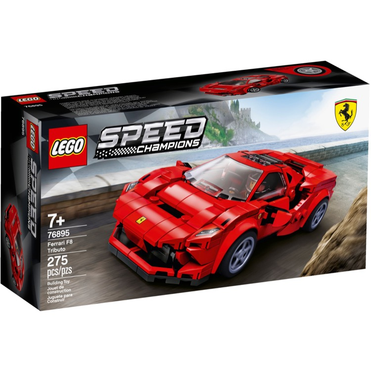 LEGO Speed Champions Sets: 76895 Ferrari F8 Tributo NEW