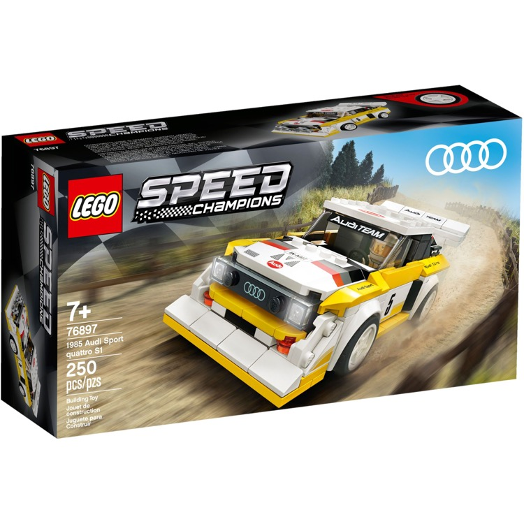 LEGO Speed Champions Sets: 76897 Audi Sport Quattro S1 NEW