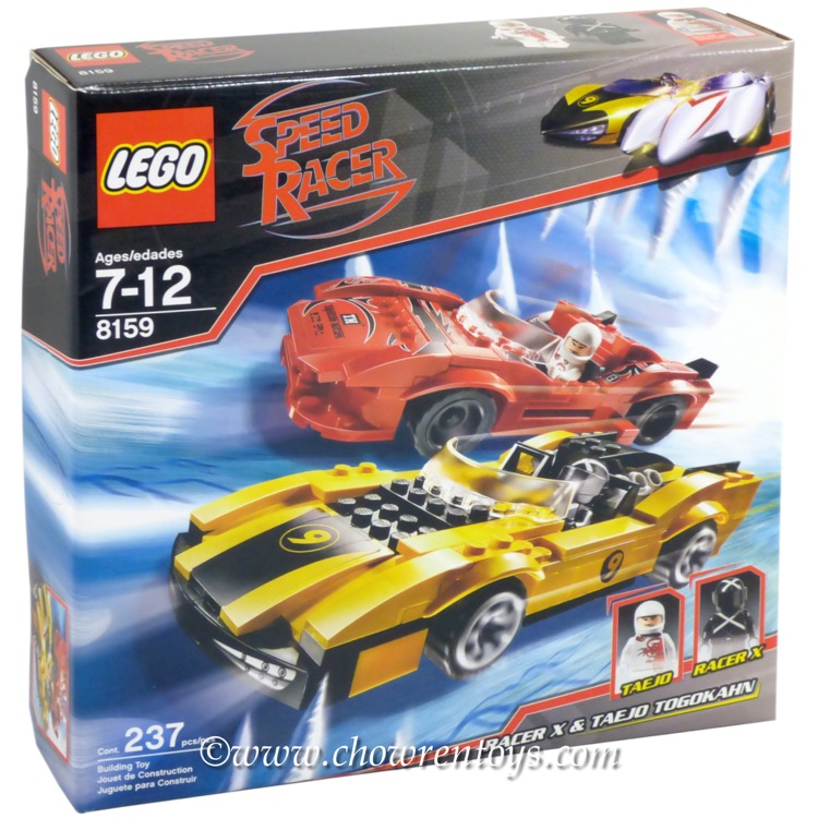 LEGO Speed Racer Sets: 8159 Racer X & Taejo Togokhan NEW