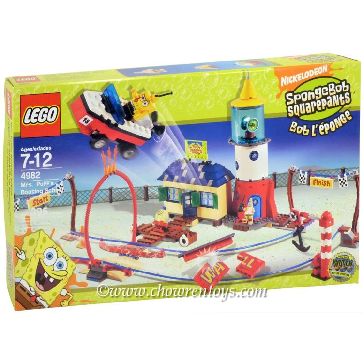 LEGO SpongeBob SquarePants Sets: 4982 Mrs. Puff's Boating School NEW