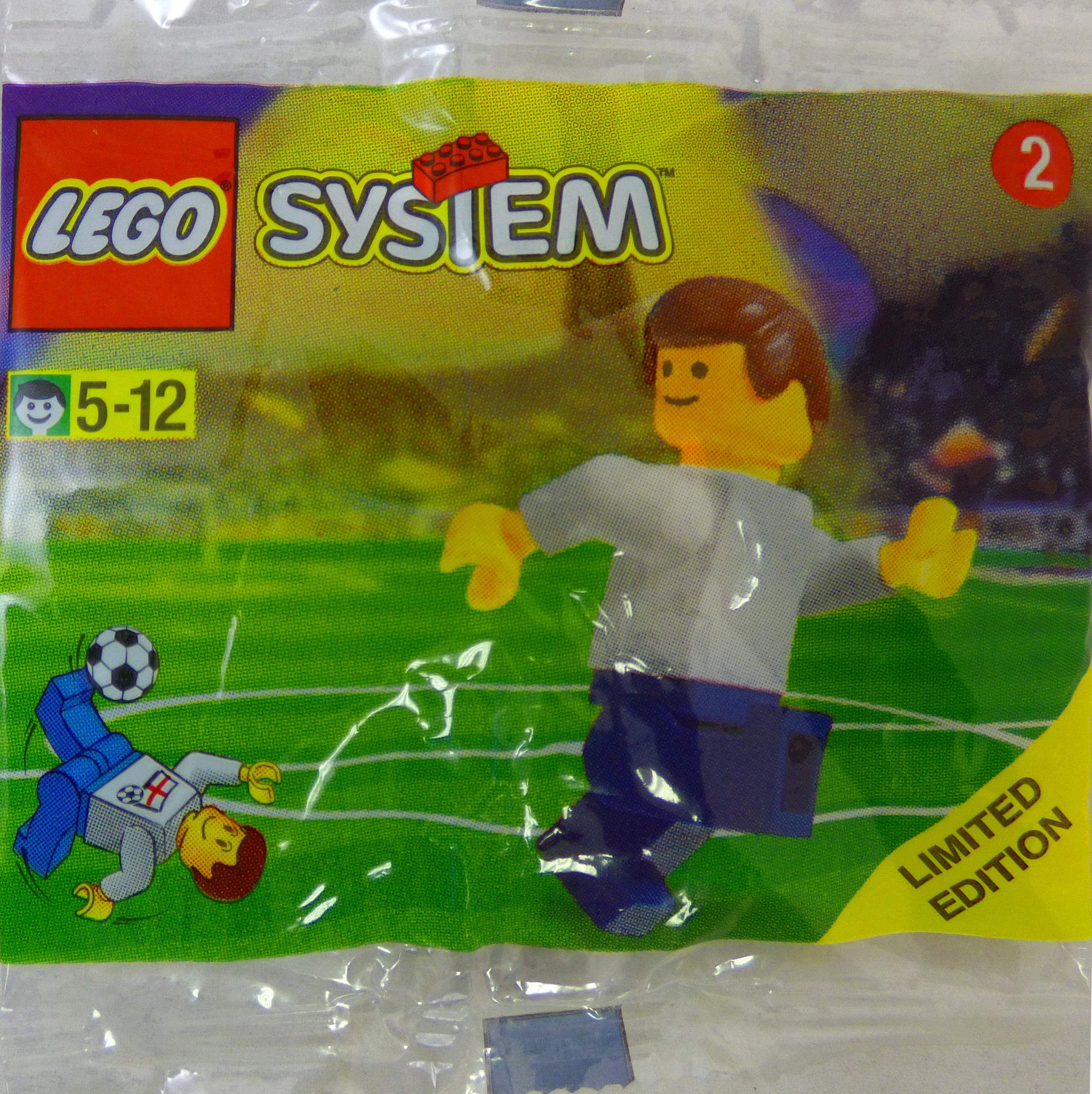 LEGO Sports Sets: Soccer SHELL Promotional 3318 Limited Edition Player (Netherland Sticker) NEW