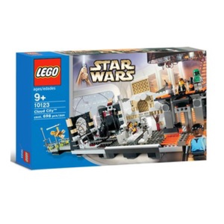 LEGO Star Wars Sets: Classic 10123 Cloud City NEW