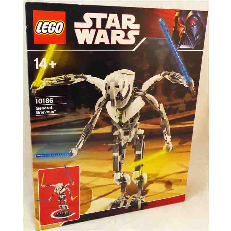 LEGO Star Wars Sets: TECHNIC Episode III 10186 General Grievous *Damaged Box* @R NEW