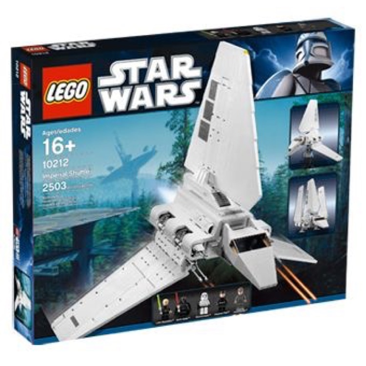 LEGO Star Wars Sets: Ultimate Collector Series Classic 10212 Imperial Shuttle NEW