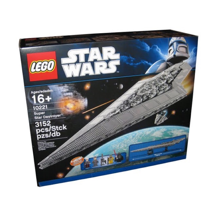LEGO Star Wars Sets: Ultimate Collector Series 10221 Super Star Destroyer NEW