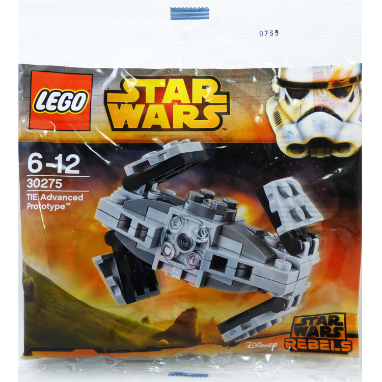 LEGO Star Wars Sets: Mini 30275 TIE Advanced Prototype NEW