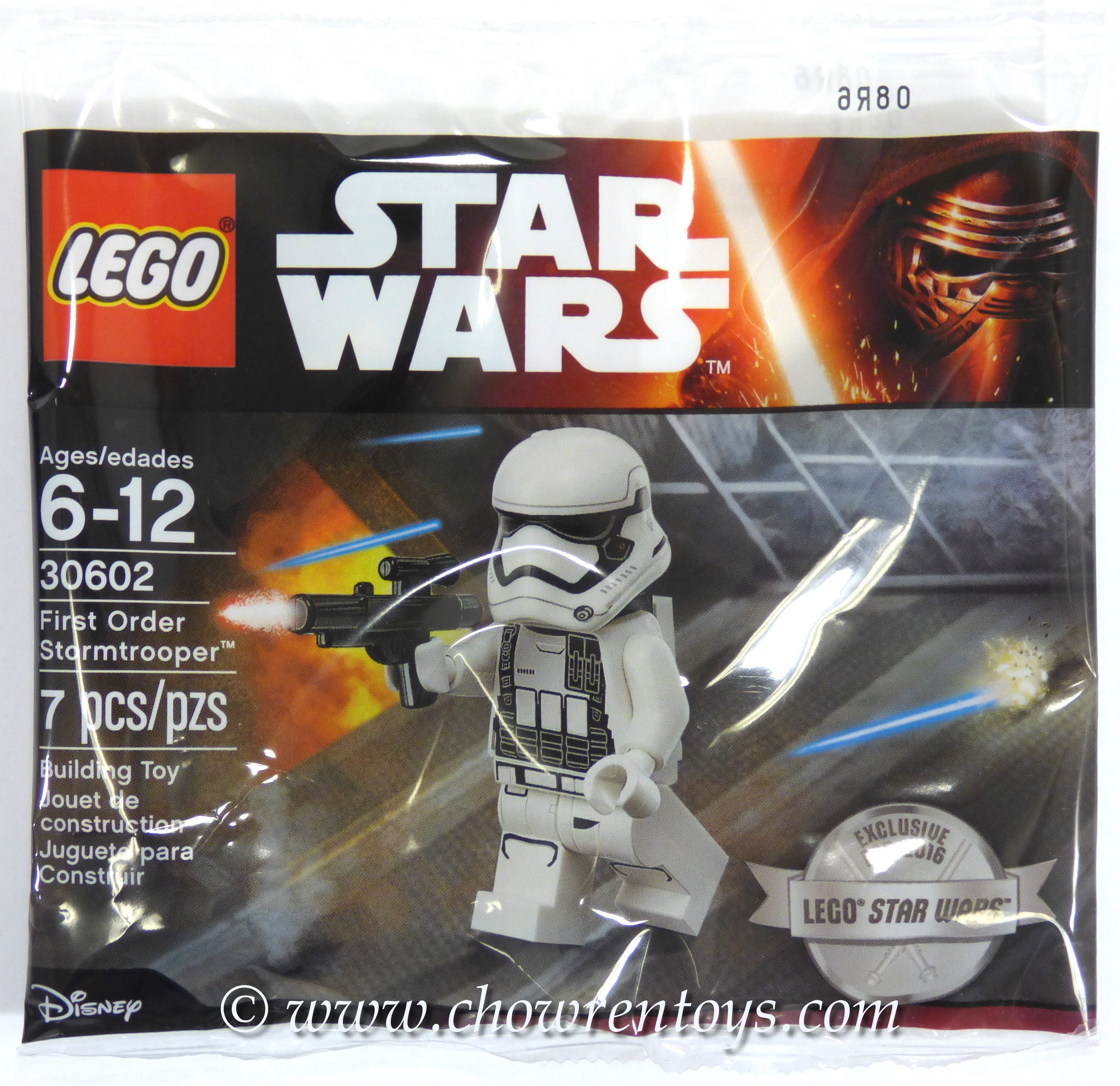 LEGO Star Wars Sets: 30602 First Order Stormtrooper NEW