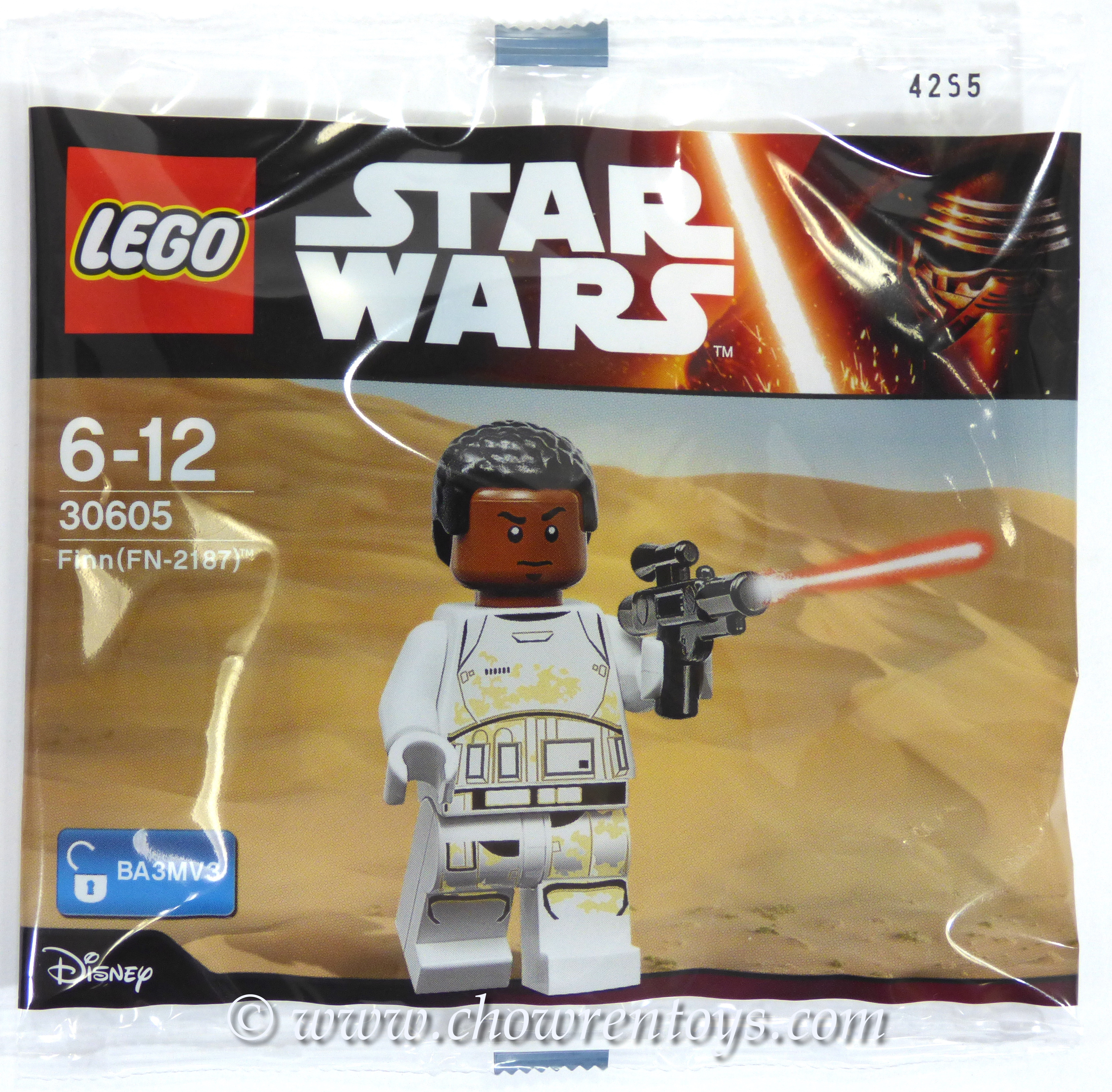 LEGO Star Wars Sets: 30605 Finn (FN-2187) NEW