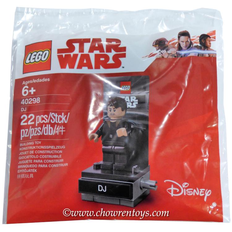 Lego Star Wars DJ Master Codebreaker Minifigure 40298 Polybag New Sealed