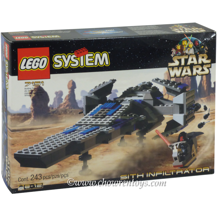 LEGO Star Wars Sets: Episode I 7151 Sith Infiltrator NEW