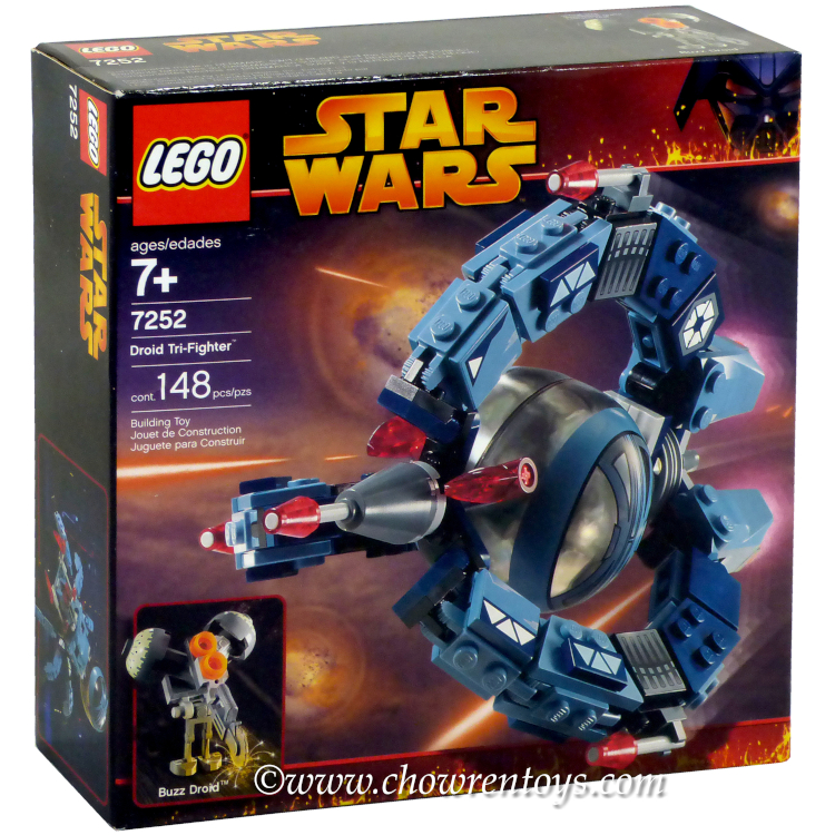 LEGO Star Wars Sets: Episode III 7252 Droid Tri-Fighter NEW