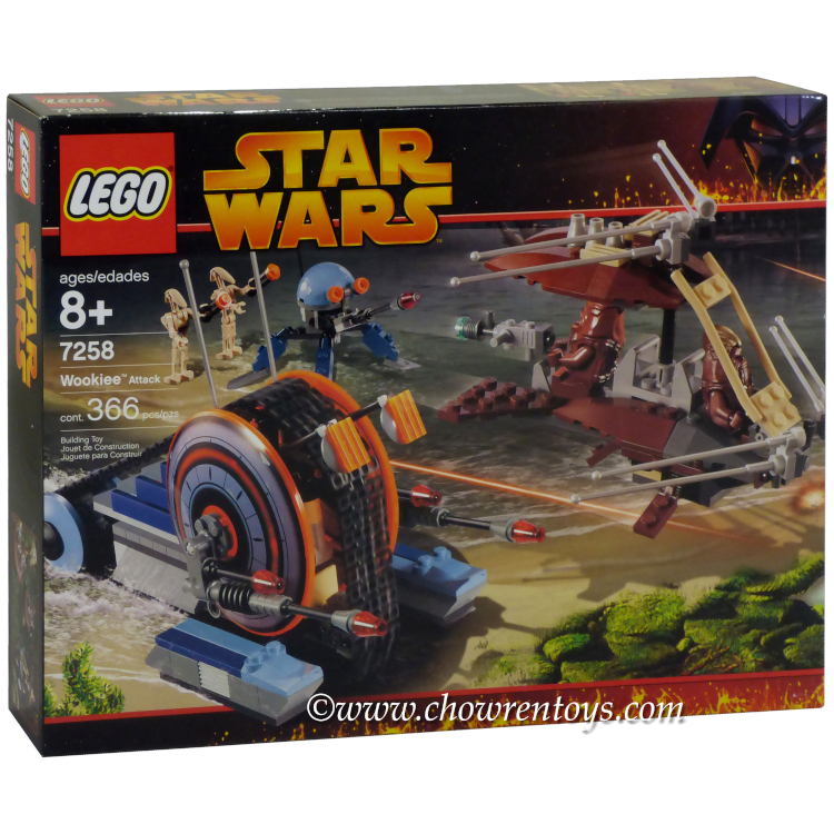 LEGO Star Wars Sets: Episode III 7258 Wookiee Attack NEW