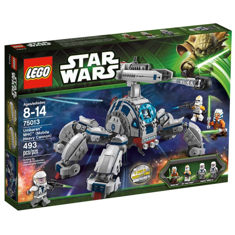 LEGO Star Wars Sets: 75013 Umbaran MHC (Mobile Heavy Cannon) NEW