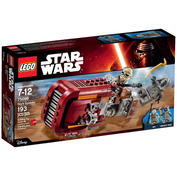 LEGO Star Wars Sets: 75099 Rey's Speeder NEW *Damaged Box*