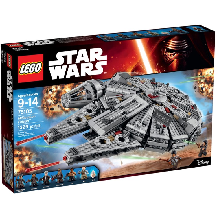 LEGO Star Wars Sets: 75105 Millennium Falcon NEW *Damaged Box*