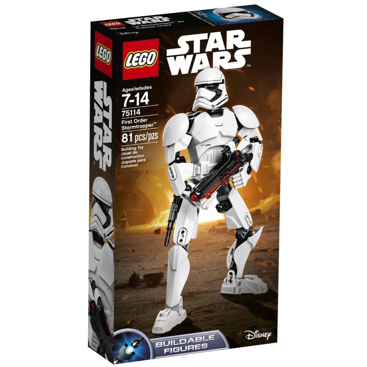 LEGO Star Wars Sets: 75114 First Order Stormtrooper NEW