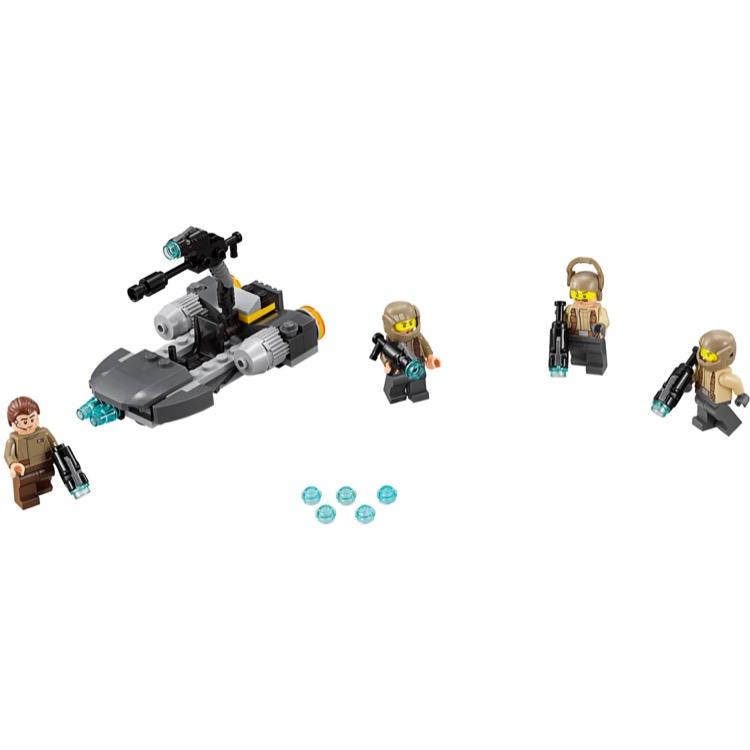 Damaged Box LEGO Star Wars Resistance Trooper Battle Pack 75131