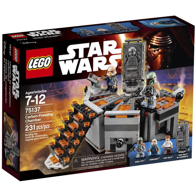 LEGO Star Wars Sets: 75137 Carbon-Freezing Chamber NEW