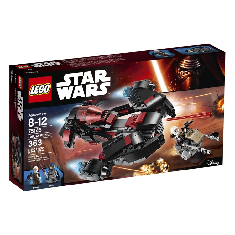 LEGO Star Wars Sets: 75145 Eclipse Fighter NEW