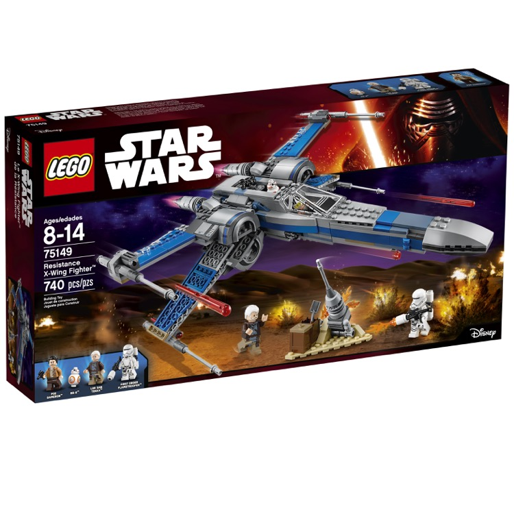 LEGO Star Wars Sets: 75149 Resistance X-wing Fighter NEW