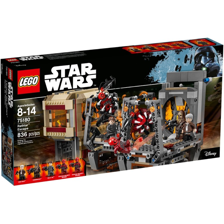 LEGO Star Wars Sets: 75180 Rathtar Escape NEW