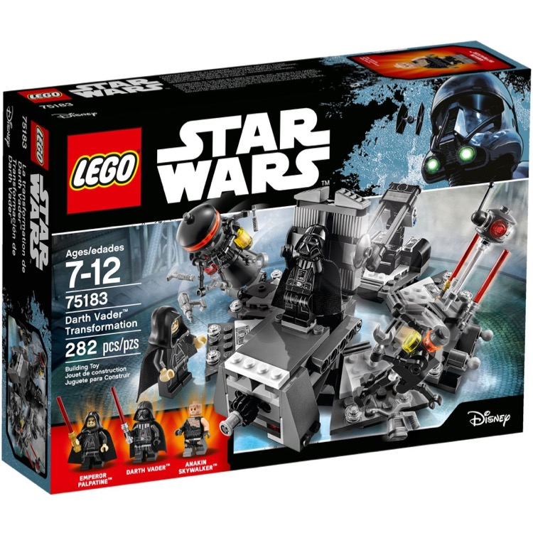 LEGO Star Wars Sets: 75183 Darth Vader Transformation NEW