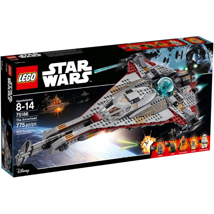 LEGO Star Wars Sets: 75186 The Arrowhead NEW