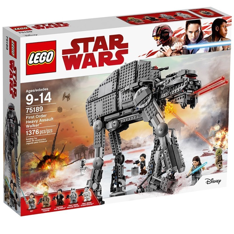 LEGO Star Wars Sets: 75189 First Order Heavy Assault Walker NEW