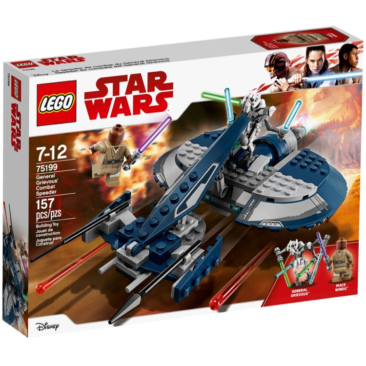 LEGO Star Wars Sets: 75199 General Grievous' Combat Speeder NEW
