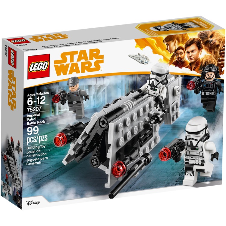 LEGO Star Wars Sets: 75207 Imperial Patrol Battle Pack NEW