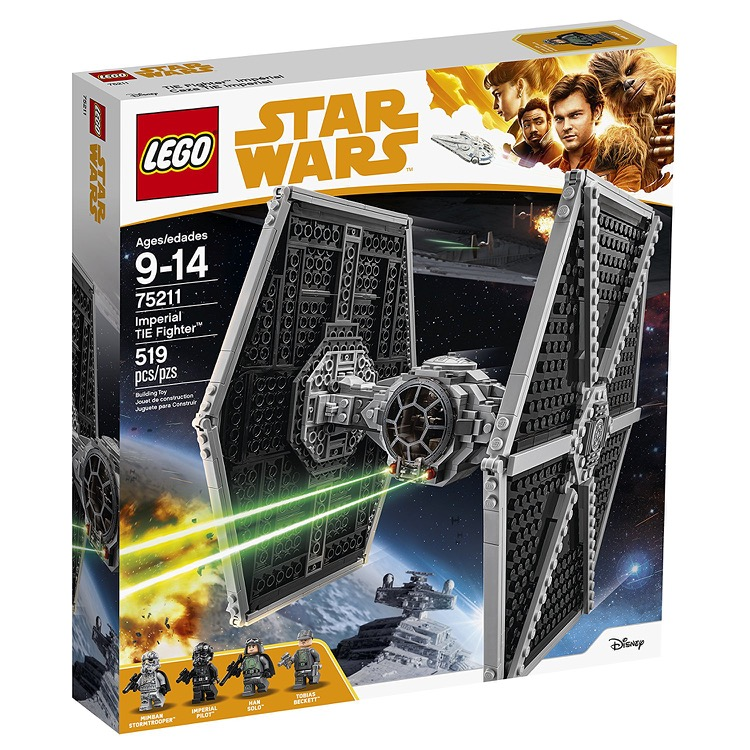 LEGO Star Wars Sets: 75211 Imperial TIE Fighter NEW *Rough Shape*
