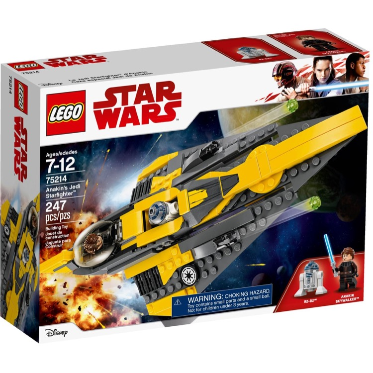LEGO Star Wars Sets: 75214 Anakin's Jedi Starfighter NEW