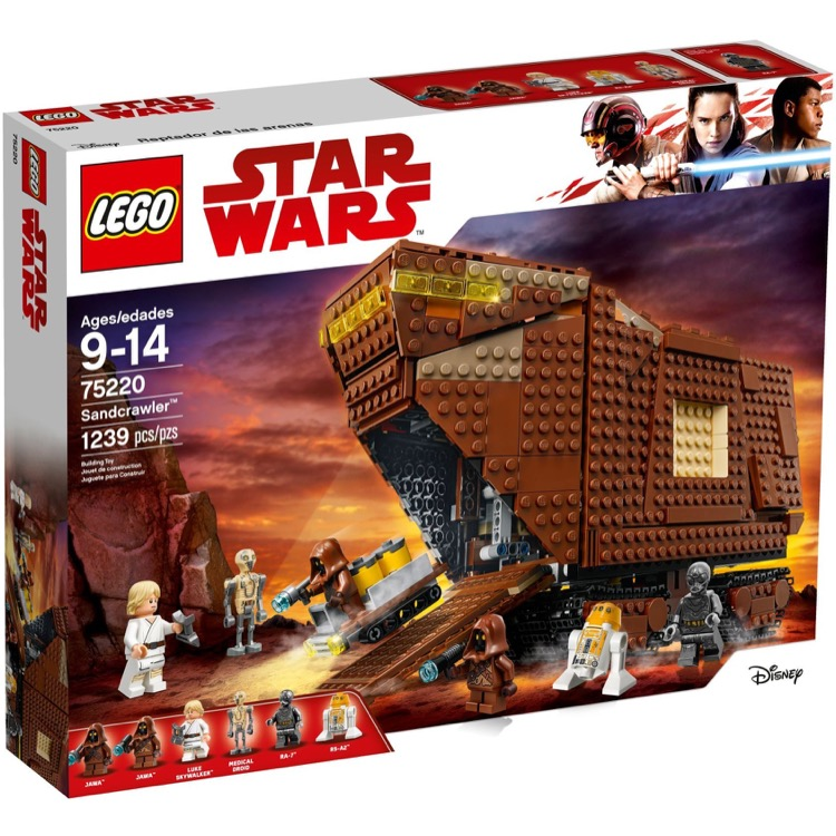 LEGO Star Wars Sets: 75220 Sandcrawler NEW