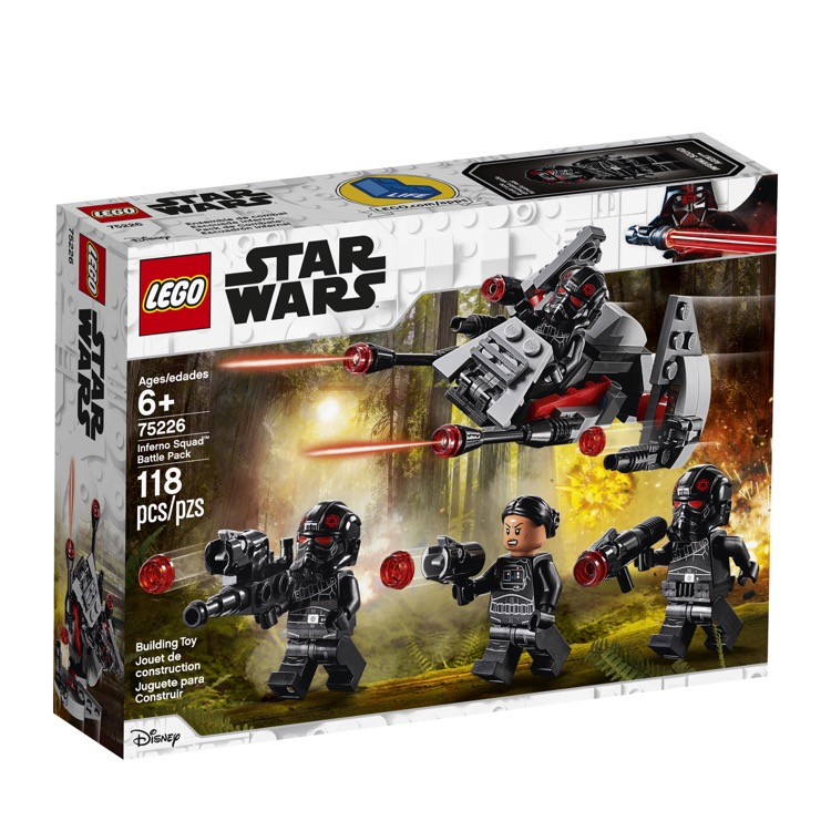 LEGO Star Wars Sets: 75226 Inferno Squad Battle Pack NEW