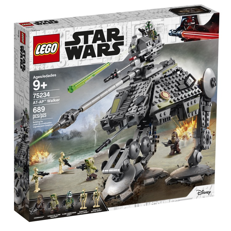 LEGO Star Wars Sets: 75234 AT-AP Walker NEW