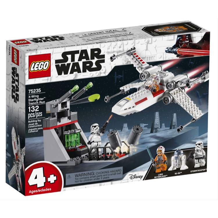 LEGO Star Wars Sets: 75235 X-wing Starfighter Trench Run NEW