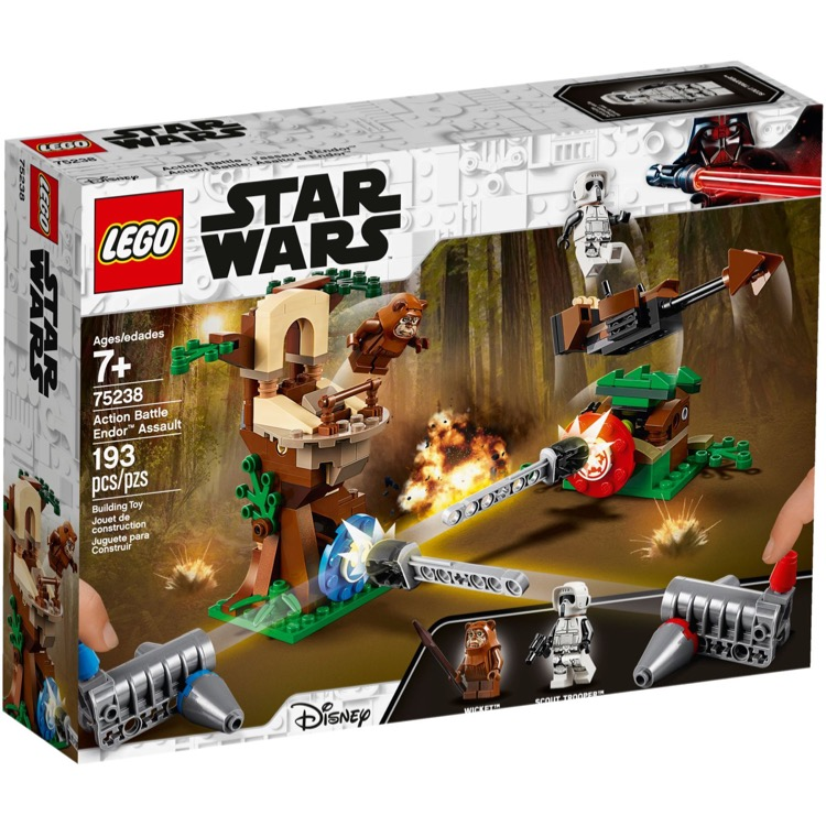 LEGO Star Wars Sets: 75238 Action Battle Endor Assault NEW