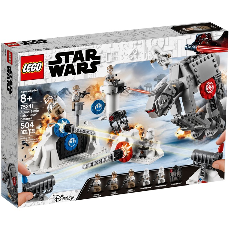 LEGO Star Wars Sets: 75241 Action Battle Echo Base Defense NEW