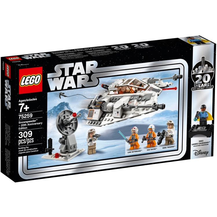 LEGO Star Wars Sets: 75259 Snowspeeder 20th Anniversary Edition NEW