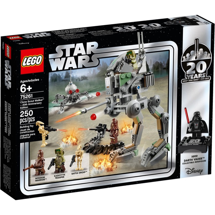 LEGO Star Wars Sets: 75261 Clone Scout Walker 20th Anniversary E NEW