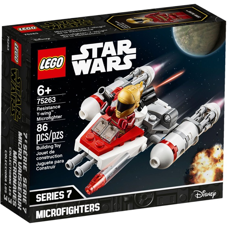 LEGO Star Wars Sets: 75263 Resistance Y-wing Microfighter NEW