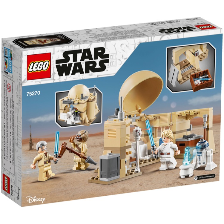 LEGO Star Wars Sets: 75270 Obi-Wan's Hut NEW