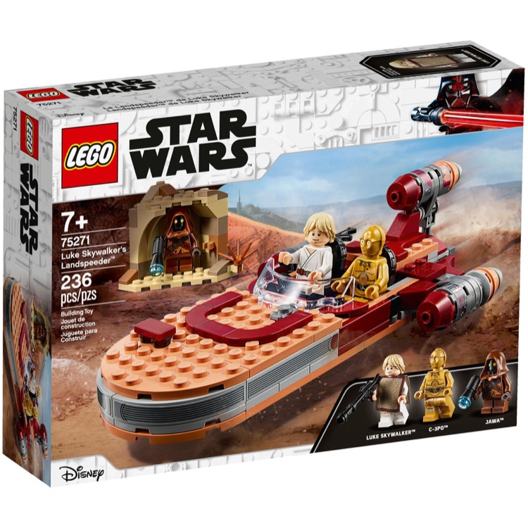 LEGO Star Wars Sets: 75271 Luke Skywalker's Landspeeder NEW