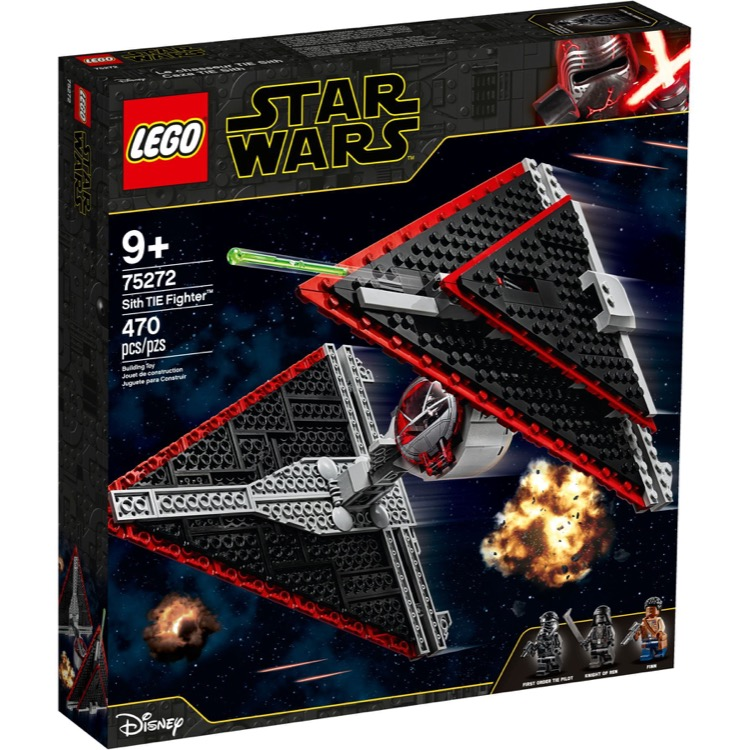 LEGO Star Wars Sets: 75272 Sith TIE Fighter NEW