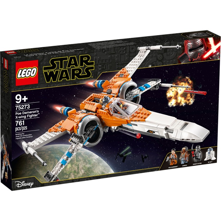 LEGO Star Wars Sets: 75273 Poe Dameron's X-wing Fighter NEW