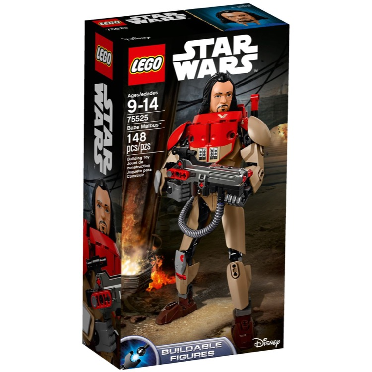 LEGO Star Wars Sets: 75525 Baze Malbus NEW