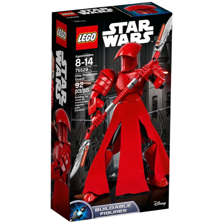 LEGO Star Wars Sets: 75529 Elite Praetorian Guard NEW *Rough Shape*