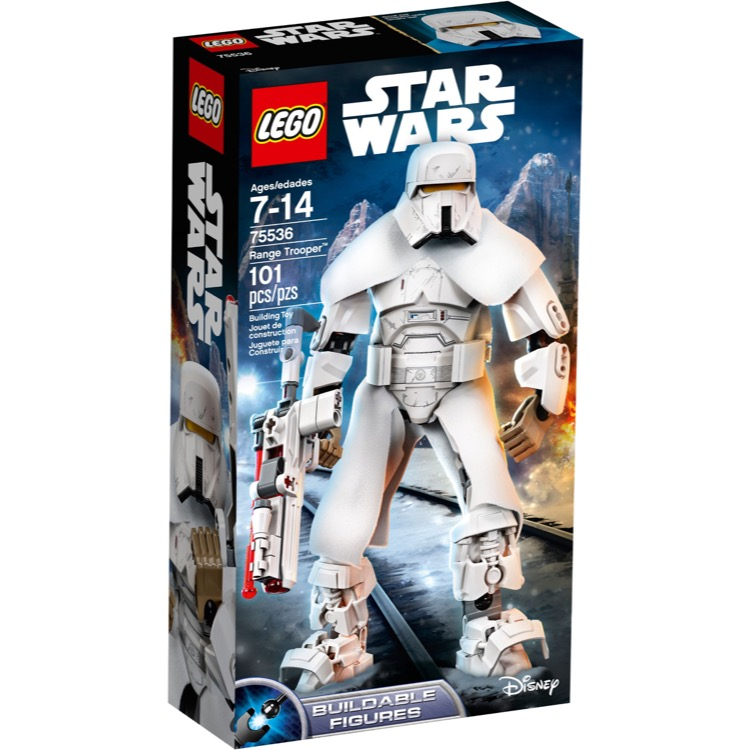 LEGO Star Wars Sets: 75536 Range Trooper NEW